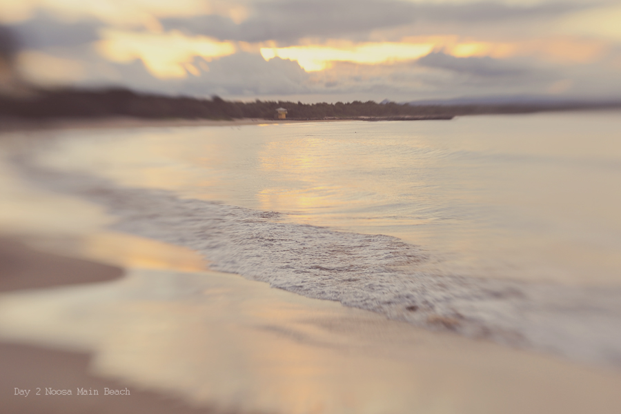 lens baby photograph of beach at noosa heads
