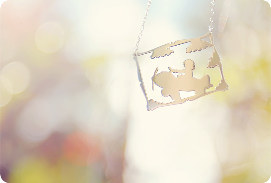 tinker and art necklaces