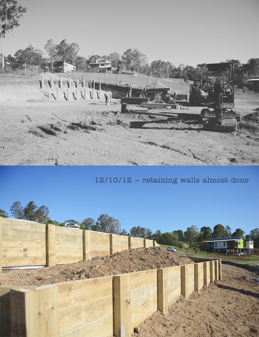 retaining wall builders on the sunshine coast for sloping blocks