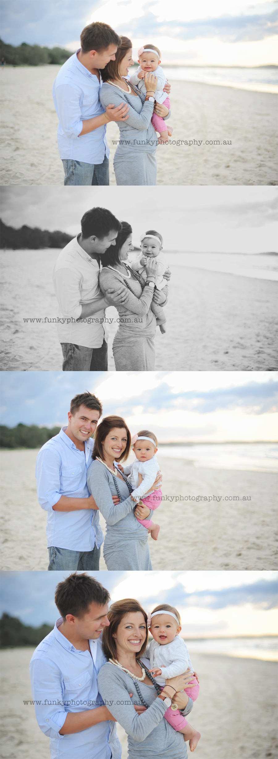 baby portrait photographs noosa main beach